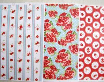 Wafer Paper edible prints Set C - 3 A4 pages