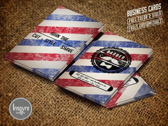 barber logos business cards - photo #2
