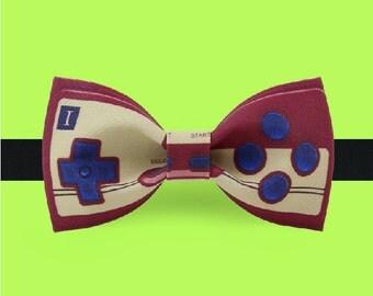 Joystick bow tie - Gamepad bow tie - Game gift - Manette de jeux