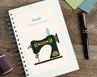 Personalised Sewing Notebook