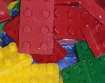 Chocolate Lego Bricks