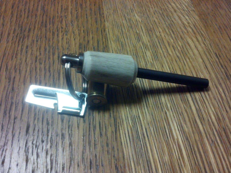 antler fire starter keychain. Black Bedroom Furniture Sets. Home Design Ideas