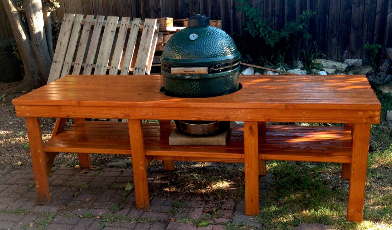 The Big Green Egg Table