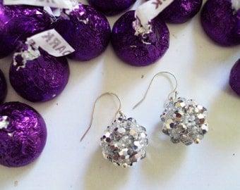 Bling Earrings - Silver
