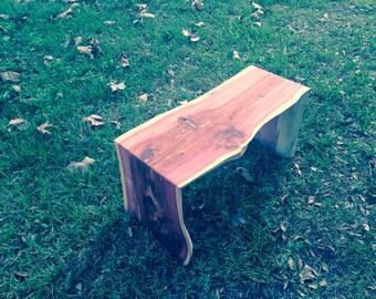Small Cedar bench
