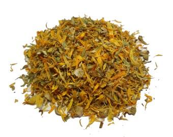 Dried Organic Calendula (Marigold) 1 oz (30 g) incense herb