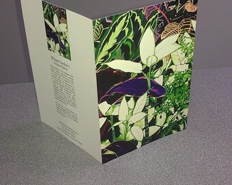 Wintergarden Flowers Art / Gift  Card