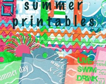 Summer Time Printable!