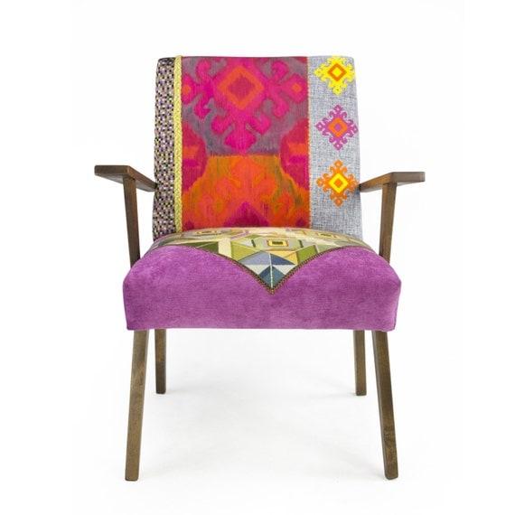 Mid Century Modern Armchairs: Mid-century Modern Patchwork Armchair PeeRel By Lasilladesign