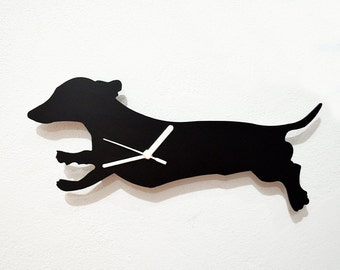 Dachshund Dog 3 - Wall Clock