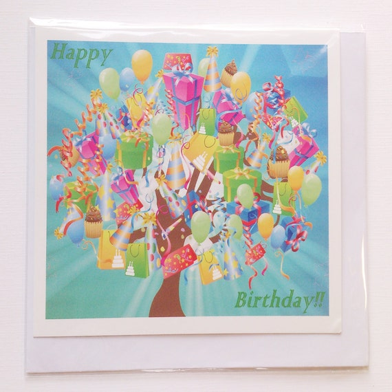 Gift Tree Birthday Card In Zulu Xhosa Languages