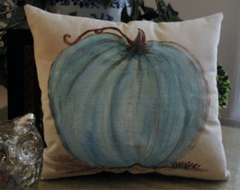 White Pumpkin Pillow