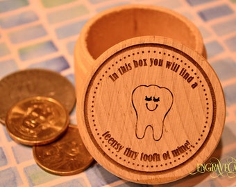 Tooth Fairy Box, Personalized