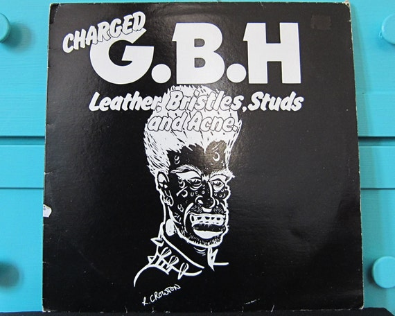 Charged GBH - Leather, Bristles, Studs and Acne Vinyl Record