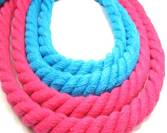 3 meters Twisted Cotton Rope Cord 10mm, Soft Rope Cord