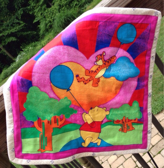Winnie The Pooh & Tigger Security Quilt FREE By AprilLynnMade