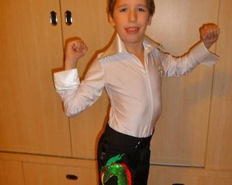Boys/Men Latin/Ballroom Dance Shirt (leotard)