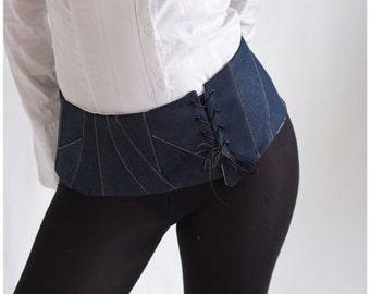 belt boned corset Tindrajean