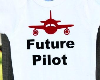 Future Pilot Onesies®, Airplane Baby Shower