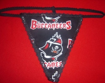 Womens TAMPA BAY BUCCANEERS Green G-String Thong Female Nfl Lingerie Football Underwear