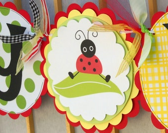 Ladybug Birthday - Garden Party - Deluxe Package - Special Pricing - FREE SHIP (US only)
