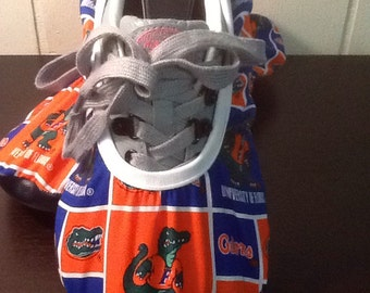 Bowling Shoe Covers (one Pair) Florida Gators UF Blue & Orange Unisex Must Have!