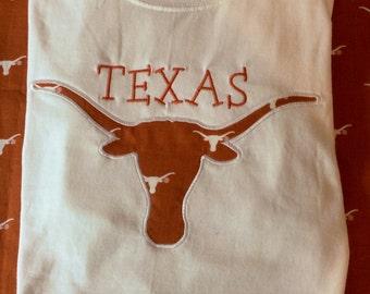 Texas Longhorns monogrammed tee shirt!