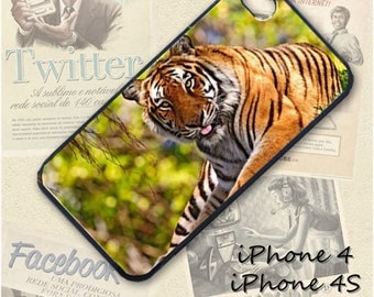 Tiger cell phone Case / Cover for iPhone 4, 5, Samsung S3, HTC One X, Blackberry 9900, iPod touch 4 / 616