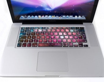 Stickers clavier pour MacBook Galaxy