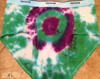 Men's Tie-Dye Underwear- Size Extra Large