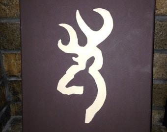 Browning symbol canvas