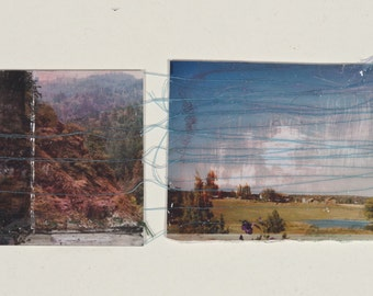 landscape with thread