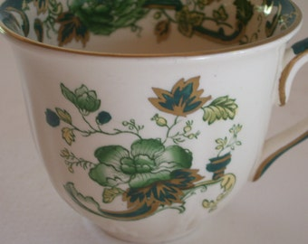 Mason's Ironstone China Chartreuse Teacup Was 35.00 NOW