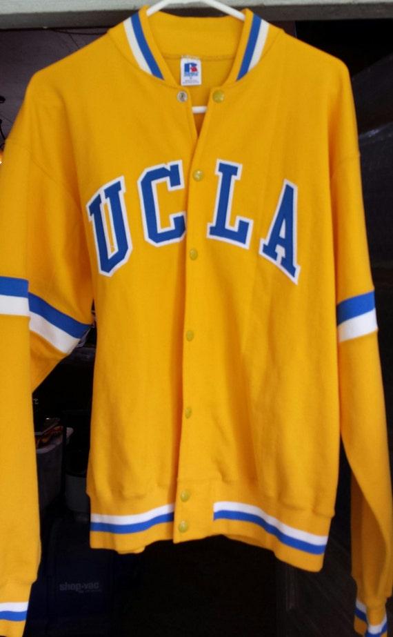 60f54a40f024 1980u0026 39 s Vintage UCLA Basketball Team Issued Warm Up Jacket