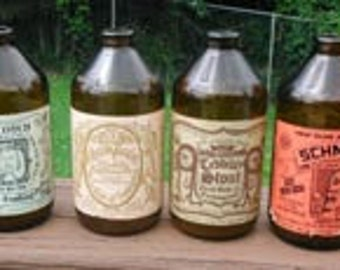 Genuine Frothingslosh Beer Bottles