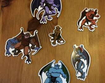 Disney Gargoyles Fridge Magnets - Series 1