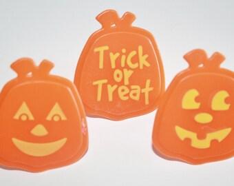 Halloween Jack-O-Lantern Cupcake Rings