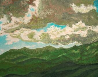 European art oil painting landscape signed
