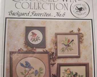 Crossed Wings Collection Backyard Favorites No.6 Chart