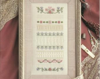 Victorian Drawn Thread Sampler