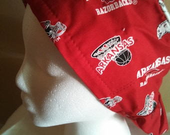 Arkansas Razorback OR Surgical Hat