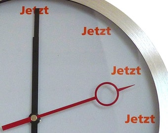 The Now Clock - Wall Clock