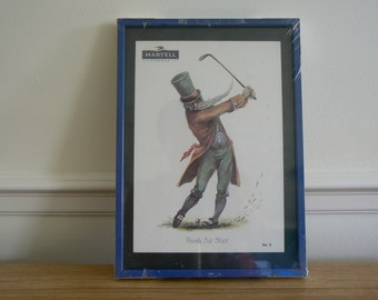 Martell - Norman Orr Golfing Print - Fresh Air Shot.
