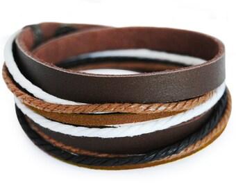 axy wrap bracelet TWIC6-9!  Leather Bracelet