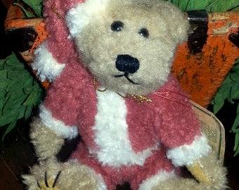 Niki Santa Bear by Boyds Bear