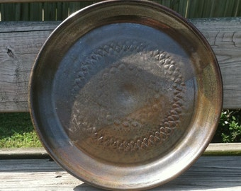 Rustic, Wheel Thrown Plate