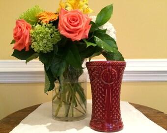 McCoy Basket Weave Vase