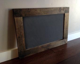 18x24 Rustic Wood Framed Chalkboard. Rustic Framed Chalkboard. Wood Framed Chalkboard, Large Rustic Framed Chalkboard. Rustic Chalkboard