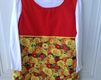 Fall color jumper