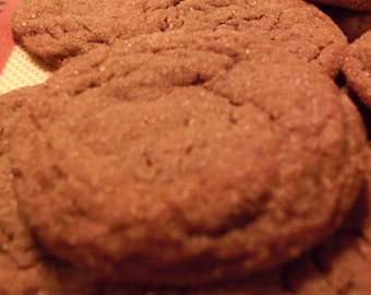 A Pound of Homemade Soft Ginger Cookies
